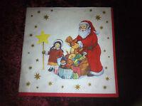 """3x Serviette """"Bescherung"""", Weihnachten, Motiv 12, Deko/Serviettentechnik, NEU"""