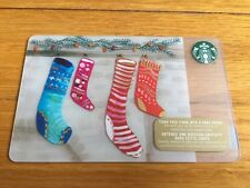"""Canada Series Starbucks """"HUNG WITH CARE 2015"""" Gift Card - New No Value"""