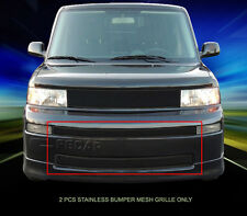 For 03-07 Scion Xb Black Stainless Steel Mesh Grille Grill Bumper Insert Fedar