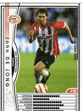 figurina CARD WCCF EUROPEAN CLUB 2004/05 PANINI NEW 109 PSV EINDHOVEN DE JONG