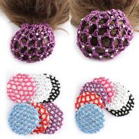 Hair Accessories Pearl Mesh Bun Cover Hair Styling Ballet Snood Hair Nets