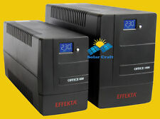 Onduleur EFFEKTA Line-interactive Protection Régulation Tension réseaux 1500 VA
