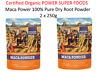 2 x 250g POWER SUPER FOODS Maca Power 100% Pure Dry Root Powder INCA ORGANIC