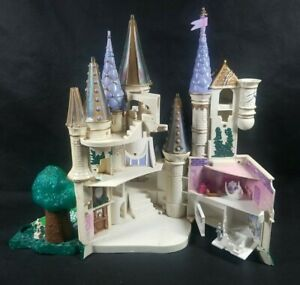 Vintage Trendmasters Polly Pocket Disney Beauty and The Beast Castle 1998 Works