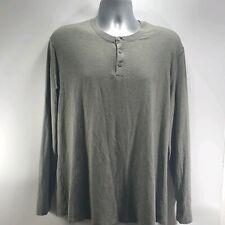 Lululemon Mens Shirt Long Sleeve Polo Light Weight Button Shirt Gray Stretch  XL
