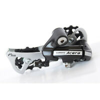 SHIMANO Acera Bike Rear Derailleur RD-M360 7/8 Speed Top-Normal Long Cage Black