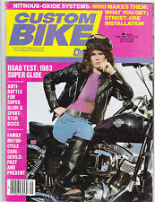Vintage CUSTOM BIKE Magazine May 1983