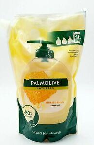 Palmolive Naturals Hand Soap Milk & Honey Refill Liquid Handwash 33.8 Fl oz. 1L.