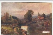 Berkshire; Old Watermills, Goring On Thames PPC 1911, To Miss Tippett, Southgate
