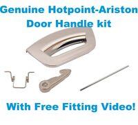 Compatible Bosch Tumble Dryer White Door Handle WTW84560GB//12; WTW86560GB//14