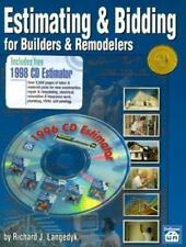 Estimating & Bidding for Builders & Remodelers-ExLibrary