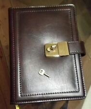 Agenda Diary Vintage Genuine Leather, AS NEW