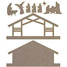 Natividad Set-Mdf Corte Láser Craft espacios en blanco