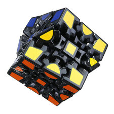 3x3x3 Gear Cube Magic Cube Sticker Twist Puzzle Brain Teaser Intelligence Toy
