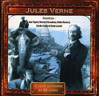 Histoire pour enfant - LE TOUR DU MONDE EN 80 JOURS Jules Verne -  cd neuf