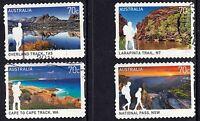 Australia 2015 Great Australian Walks Set of Stamps P Used S/A
