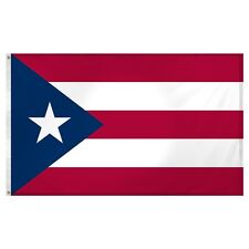 Puerto Rico Flag Super Poly 4x6 Large House Flag Banner Grommets