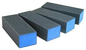 [LIMITED ED.]NEW Black Sanding BLUE Buffer Block 3Way 220Grit FINE & SMOOTH