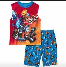 NWT Sky Landers Boy's 2 Pc Pajamas Size 4/5