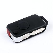 1 Button Uncut Smart Flip Folding Remote Key Case Shell for Mercedes Benz Fob