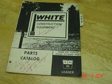 WHITE Construction 4-50 AL Loader,  Parts Catalog OEM LQQK