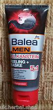 Balea Men Fresh Peeling Gel & Face Mask of volcanic stone -100 ml.
