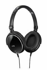 NEW JVC Victor HA-S600-B Sealed headphone foldable type Black from Japan