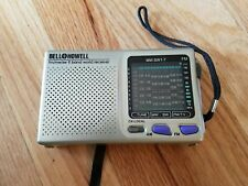 NICE Bell + Howell 9 Band World Receiver Radio AM/FM/SW & Transistor Portable