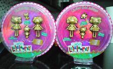 Lalaloopsy mini Limited Gold Edition Spot Trinket Jewel Crumbs Squirt & Peanut