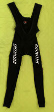 SPECIALIZED Mens Cycling Bib Black Tights w Seat Padding Size XXL 6‎