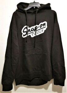 NEW Snap On Tools Men's BLACK Retro Logo Hoodie Hooded Sweatshirt Free Shipping