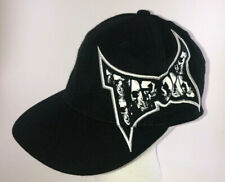 TAPOUT S/M Stretch Hat Black and White Skull Logo Tek Flex Brand