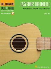 EASY SONGS FOR UKULELE - UKULELE SONGBOOK/ONLINE AUDIO 695904