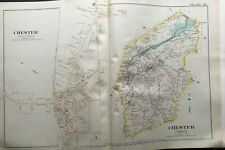 1887 CHESTER TOWNSHIP MORRIS COUNTY MILLTOWN NEW JERSEY ATLAS MAP