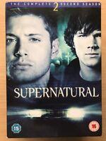 Supernatural Season 2 DVD Complete Box Set  US Horror Series w/ Jared Padalecki