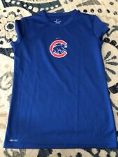 Women's Nike Dri-Fit Chicago Cubs MLB Blue Excellent Condition Medium 8-10
