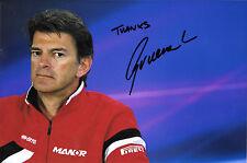 Graeme Lowdon  SIGNED , F1 Manor-Marussia Team CEO Portrait
