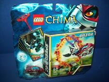 LEGO 70100 LEGENDS of CHIMA - RAZAR Ring of Fire - Rip Cord Racer sealed  new
