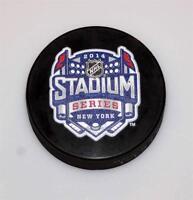 New York Rangers NHL 2014 Stadium Series Yankee Stadium Puck