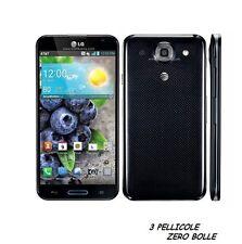 3 Pellicola OPACA per LG Optimus G Pro E985 986 Protettiva Pellicole ANTIMPRONTA