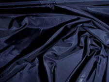 """POLYESTER LINING FABRIC NAVY BLUE 60"""" BY THE YARD"""