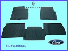 2010 - 2014 F150 Supercab Front and Rear All Weather Slush Floor Mats Ford OEM