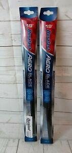 "Duralast Aero Blade Wiper Blade Hybrid 19"" DLA-19 Set of 2"
