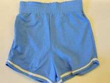"NOS Vtg '70's Rawlings Running Gym Shorts Blue & White Size Small 25""-27"" USA"