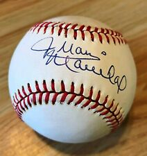 JUAN MARICHAL SIGNED AUTOGRAPH AUTOGRAPHED BASEBALL HALL OF FAME SAN FRAN GIANTS
