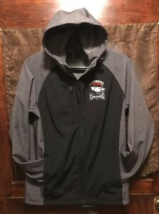 CHARLOTTE CHECKERS JR Junior AHL ~ Adult Small ~ Hooded Performance Jacket