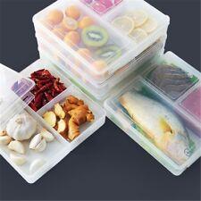Plastic Sealed Crisper Refrigerator Containers Box Set Food Storage Boxes