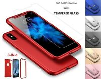Hybrid Case for Apple iPhone New Models, Cover 360 Luxury Ultra Thin Shockproof