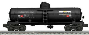 NEW LIONEL #22529 K-LINE US ARMY 1-DOME DIESEL FUEL TANK CAR - MINT OB