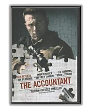 The Accountant DVD Movie, Ben Affleck (2016) Drama, Thriller, Crime, Widescreena